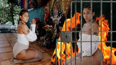 ¿Un Año De Prisión? Tokischa En Problemas Tras Profanar Altar De La Virgen De La Altagracia