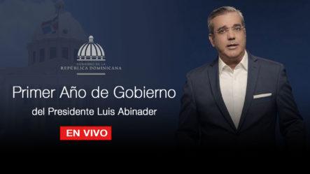 Primer Año De Gobierno Del Presidente Luis Abinader