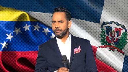 Aramis Villalona Pide Al Pueblo Dominicano Seguir Siendo Solidarios Con Los Venezolanos