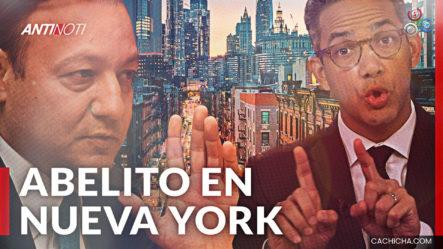 El Abucheo A Abel Martínez En Nueva York | Antinoti
