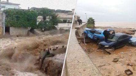 Depresión Tropical Provoca Fuertes Inundaciones En España