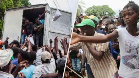Haitianos Piden Más Ayuda Humanitaria Por La Fuerte Hambre Que Están Pasando