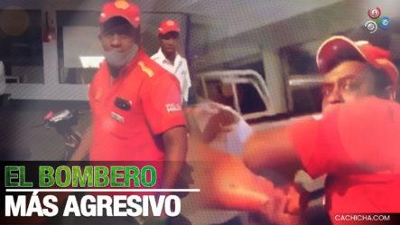 """Bombero Le Quita Llaves Del Motor A Joven, Porque El Dinero Con El Que Iba A Pagar """"la Maquina No Lo Coge"""""""