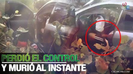 Accidente Km 18 De Las Américas, Hombre Perdió El Control Del Vehículo Muriendo Al Instante