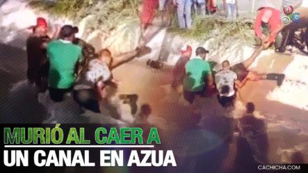 Hombre Muere Al Caer Al Canal Ysura En Azua