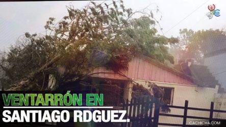 Ventarrón En El Municipio De Sabaneta, En La Provincia Santiago Rodríguez