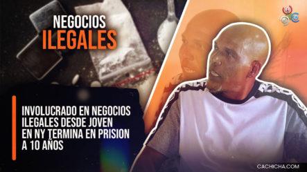 Involucrado En Negocios Ilegales Desde Joven En Ny Termina En Prisión A 10 Años