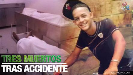 Mueren Tres Personas Tras Accidente De Motocicletas En Neyba