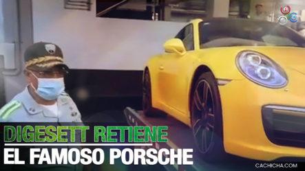 Localizan Y Retienen Al Porsche Que Evadió A Los Agentes De DIGESETT En Un Semáforo