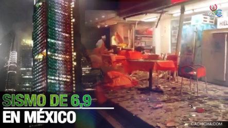 Sismo De Magnitud 6,9 Registrado En La Ciudad De México