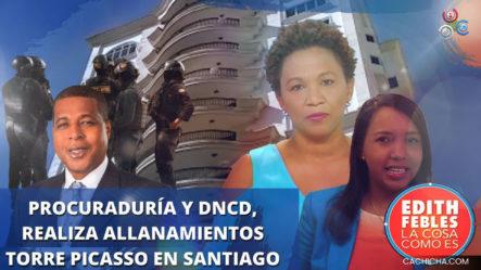 Procuraduría Y DNCD, Poner En Marcha La Operación Falcón Y Realizan Allanamientos En Santiago