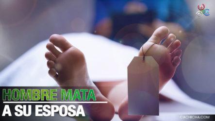 Hombre Mata A Su Esposa Y Luego Se Suicida En Santiago