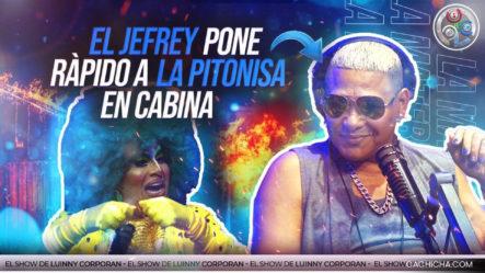 """El Jefrey Pone Rápido A La Pitonisa En Plena Entrevista. """"Saca La Cara Por Tokischa"""""""