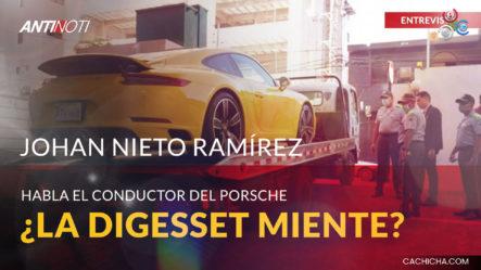 Habla El Conductor Del Porsche | Antinoti Entrevista A Johan Nieto Ramírez