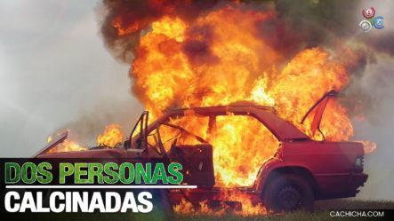 Encuentran A Dos Personas Calcinadas Dentro De Un Carro En La Vega