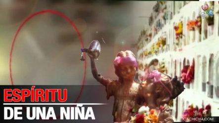¡Captan En Cámara! Imágenes Del Espíritu De Una Niña Que Tiene Aterrados A Empleados Del Cementerio En Bogatá Colombia
