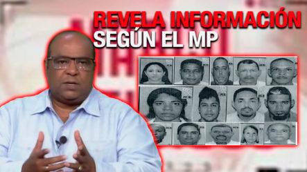 Pablo Aguilera Revela Información Sobre Los Implicados De Operación Falcón Según El MP