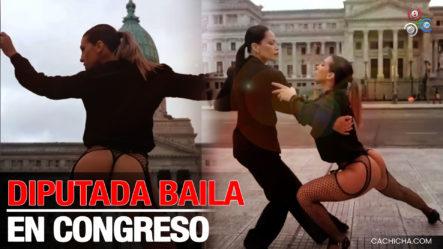 Una Candidata A Diputada En Argentina Hace Video Hot Frente Al Congreso Nacional ¡No Creerá De Qué Se Trata!