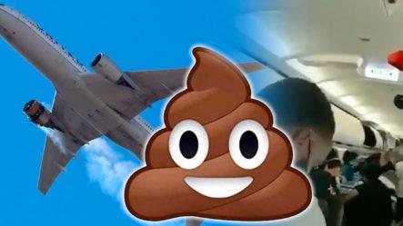 Detienen Vuelo Porque Un Pasajero Defecó En El Avión