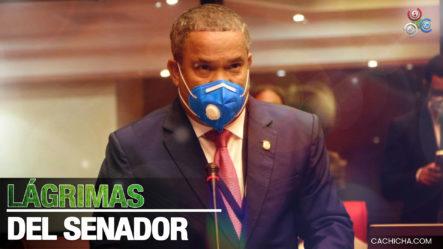 Senador Héctor Acosta Llora En El Hemiciclo Al Preguntarse Qué Ha Hecho Para Recibir Tantos Ataques