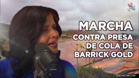 Marcha Contra La Presa De Cola De La Barrick Gold En Monte Plata