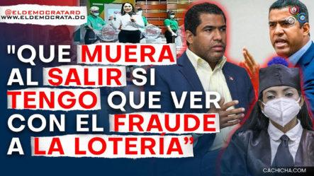 Luis Dicent A Punto De Cometer Una Locura En La Cárcel Por Acusación De Fraude En La Lotería