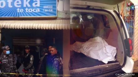 En Nagua, Hombre Entra A Una Banca Y Mata A Su Pareja Sentimental Para Después Suicidarse, Hecho Ocurrido