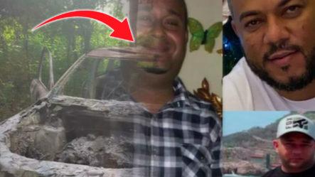 Tres Hombres Son Encontrados Calcinados Dentro De Una Jeepeta En SPM