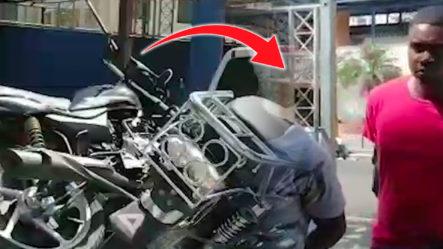 Apresan Dos Jovenes Dedicados A Robar Motores En Villa Altagracia Y Santiago