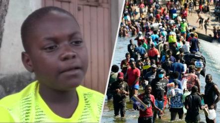 Niño Haitiano Narra Como Sus Compañeros Se Ahogaron Al Cruzar Un Río Para Llegar A EE. UU.