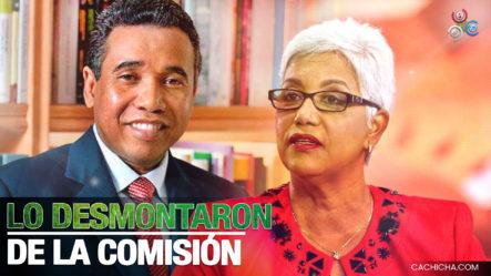 Altagracia Salazar Dice Que A Félix Bautista Lo Desmontan De La Comisión Bicameral