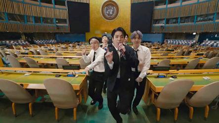 BTS Participa En La Asamblea General De La ONU Y Graban Video Musical