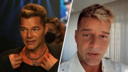 """Ricky Martin Aclara Que No Se Ha """"retocado"""" Nada En La Cara"""