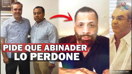 Miguel Ortega Pide A Luis Abinader Que Perdone A Enrique Figueroa, Quien Lo Amenazo De Muerte