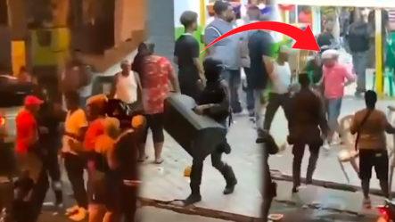 Momento Exacto En Que La Policía Desmantela Teteo En Villa Faro
