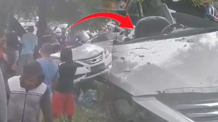 Accidente Registrado En Salida San Francisco De Macorís