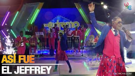 Así Se Fue El Jeffrey Vestido A Su Presentación Musical En De Extremo A Extremo