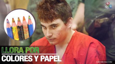 Autor De Masacre De Parkaland Llora, Porque Le Quitaron Sus Lápices De Colores