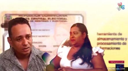 En Moca Dos Hermanos Denuncian A La JCE Por Supuestamente Bloquearles Las Cédulas De Identidad