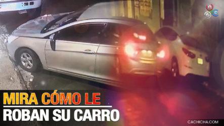 Joven Denuncia Y Muestra Cómo Le Robaron Su Carro En En Los Mina Y Ofrece $50 Mil De Recompensa