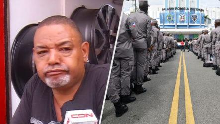 Residentes De Villa Juana En El DN Dicen Temerle A La Policía Porque No Hacen Su Trabajo