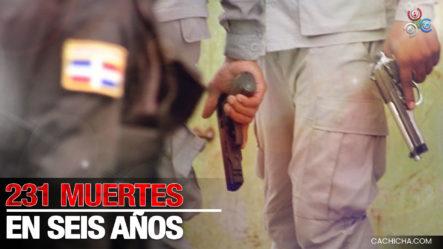 231 Personas En Los Últimos 6 Años Han Perdido La Vida A Manos De La Policía Nacional