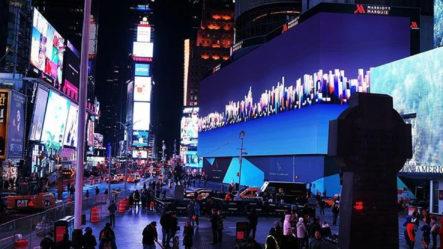 Precios De Las Pantallas Digitales De Time Square Han Bajado Debido A La Pandemia