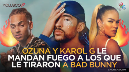 Ozuna Y Karol G Le Mandan Fuego A Los Que Le Tiraron A Bad Bunny