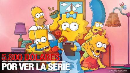 Casino Ofrece US$5,800 Por Ver La Serie De Los Simpson Y Detectar Profecías