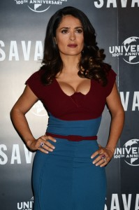 Salma Hayek: me vi completamente desfigurada durante mi embarazo
