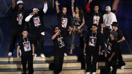 Icónica Presentación De Los 12 Discípulos En Los Latin Grammy TBT