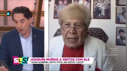 El Hombre Que Dice Que Juan Gabriel Esta Vivo Se Quilla Feo Con Un Periodista