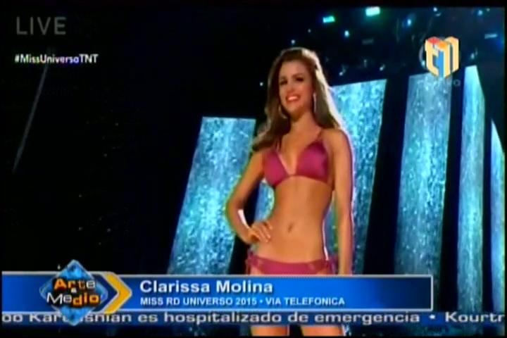 Entrevista A Clarissa Molina Donde Habla De Todo Lo Que Sucedió En Miss Universo 2015 #Video