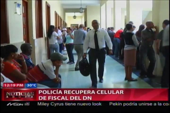 PN Recupera Celular De La Fiscal Yeni Berenice #Video